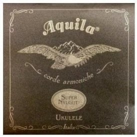 Aquila Supernylgut® Soprano Ukulele Strings 100U Regular High-G Tuning, GCEA
