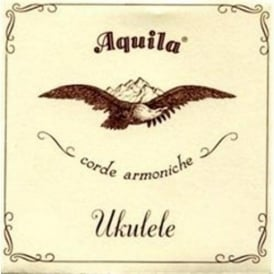 Aquila Tenor 6-String Ukulele Strings 17U Nylgut GCCEAA w/ Wound A, C-Tuning