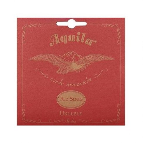 Aquila Tenor Ukulele Strings 88U Nyglut GCEA w/ Red Series Wound Low-G, C-Tuning