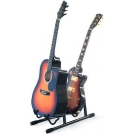 Athletic Professional Dual Guitar Stand