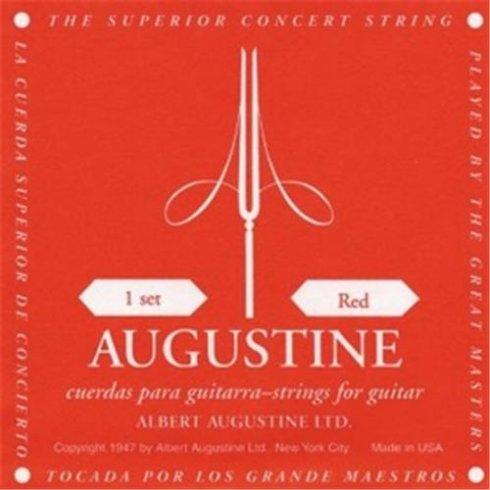 Augustine Classic Red Classical Guitar Strings - Regular Trebles / Normal Tension Basses