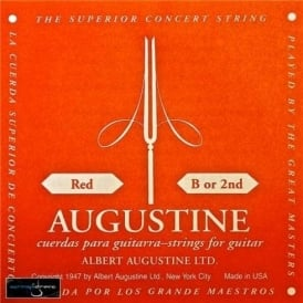 Augustine Classic Red Clear Nylon Normal Tension Classical Guitar Single String .032 B-2