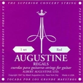 Augustine Regal Red Classical Guitar Strings - Extra High Tension Trebles / Regular Basses