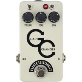 Barber Electronics Gain Changer Overdrive Guitar Effects Pedal, Raw Sparkle
