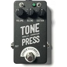 Barber Electronics Tone Press Compressor Guitar Effects Pedal, Black