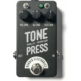 Barber Electronics Tone Press Compressor Pedal, Black