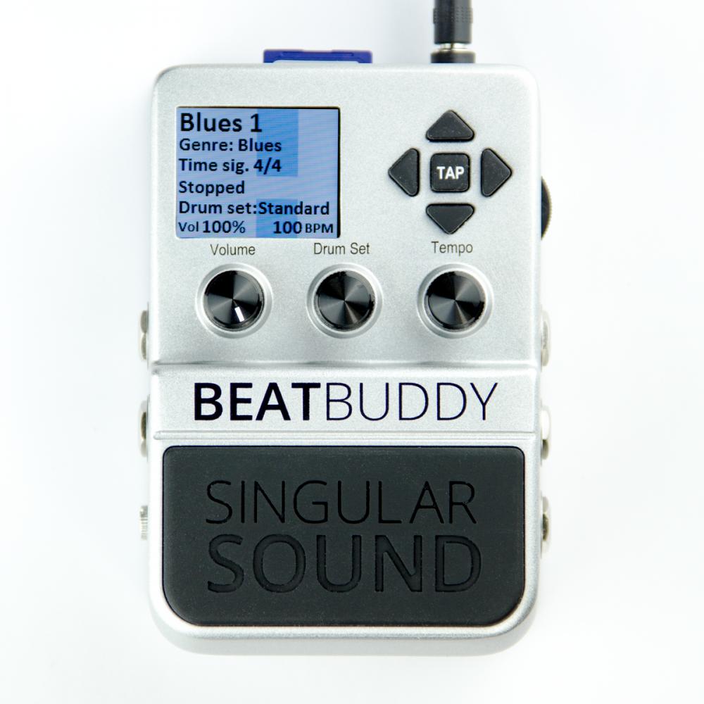 beatbuddy pedal drum machine