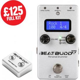 BeatBuddy Mini Drum Machine Pedal FULL KIT