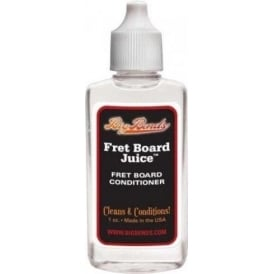 Big Bends Guitar Fretboard Juice 1oz Bottle
