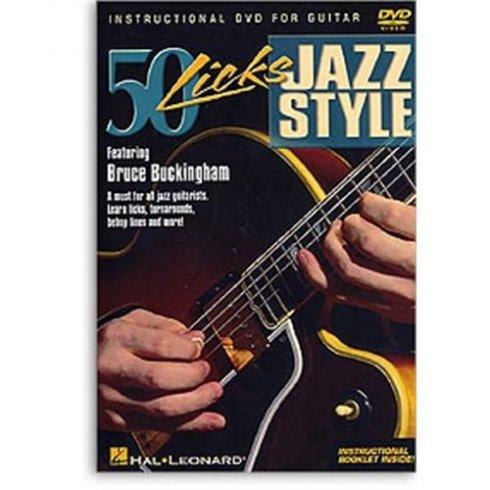 50 Licks Jazz Style Guitar DVD