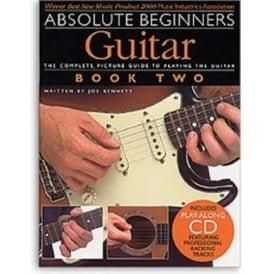 Absolute Begginers Guitar 2 Book/CD