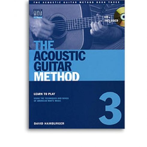 Acoustic Guitar Method 3 Guitar Tab Book/CD