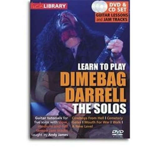 Lick Library: Learn to Play Dimebag Darrell - The Solos DVD