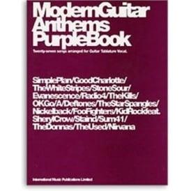 Modern Guitar Anthem Purple Book