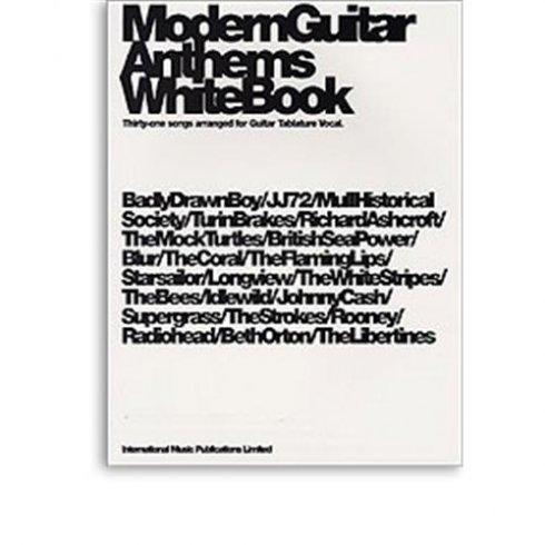 Modern Guitar Anthem WHITE Book