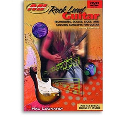 Musicians Institute Rock Lead Guitar Book/CD