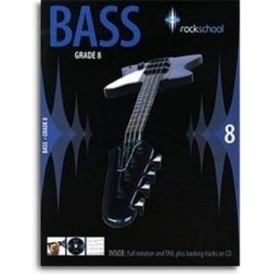 Rockschool Bass, Exam Book, Grade 8