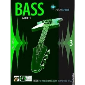 Rockschool Bass Grade 3 Bass Guitar Tuition Book
