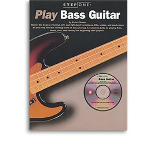 Step One Bass Guitar Book (with CD)