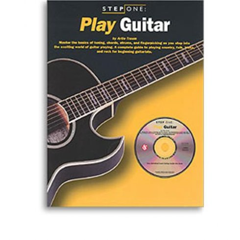 Step One Play Guitar Book (plus CD)