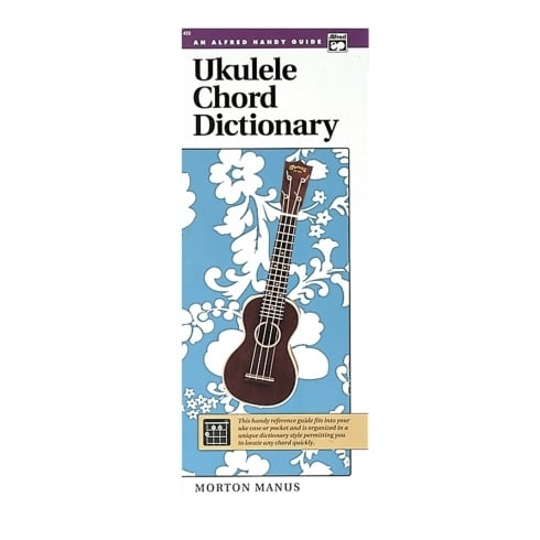Ukuele Chord Dictionary by Alfreds Books