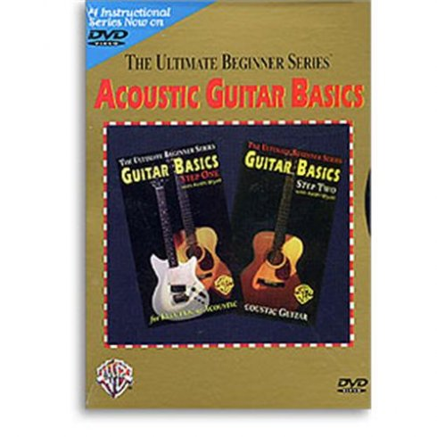 Ultimate Beginner: Acoustic Guitar Basics Step One And Two (DVD)