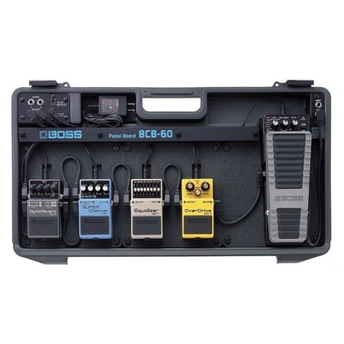 BOSS BCB-60 Pedal Board with built-in Power Supply