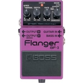 BOSS BF-3 Flanger Compact Pedal