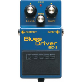 BOSS BD-2 Blues Driver Compact Guitar Effects Pedal 5-Year Warranty