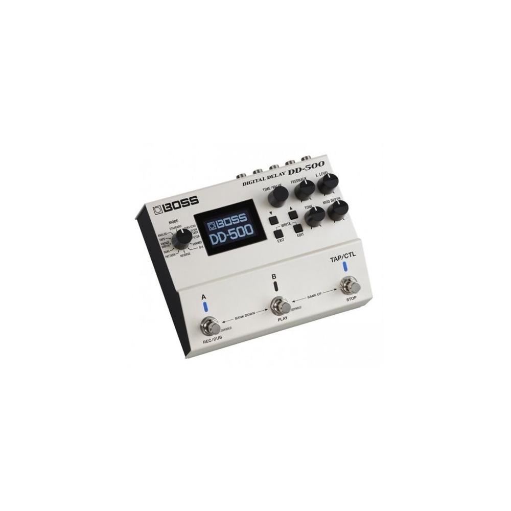 boss dd 500 digital delay guitar stompbox design effects pedal. Black Bedroom Furniture Sets. Home Design Ideas