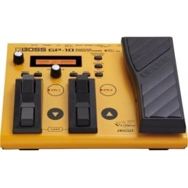 Boss GP-10GK Guitar Effects Processor with GK-3 Pickup and Cable