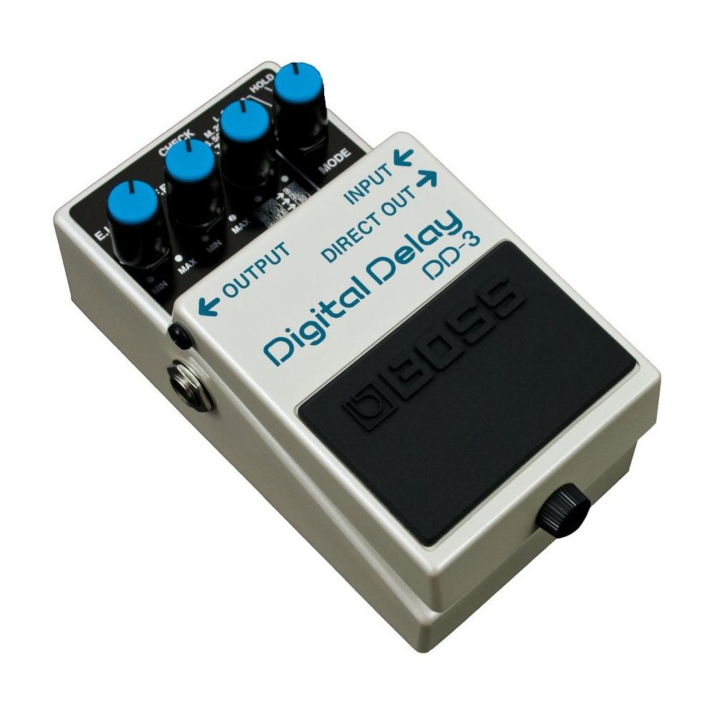boss dd 3 digital delay compact guitar effects pedal 5 year warranty. Black Bedroom Furniture Sets. Home Design Ideas