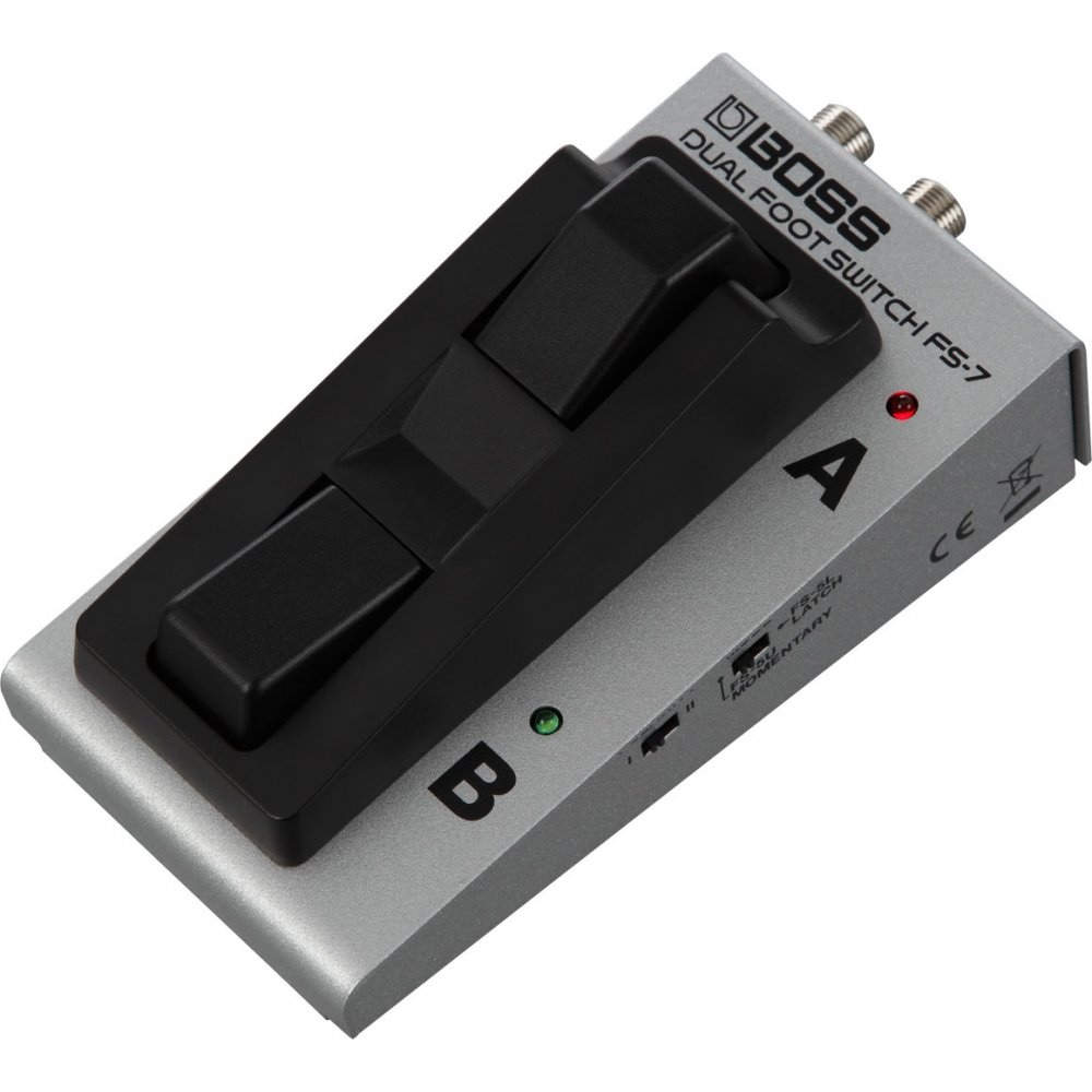 boss fs7 dual footswitch pedal for remote control of effect pedals. Black Bedroom Furniture Sets. Home Design Ideas