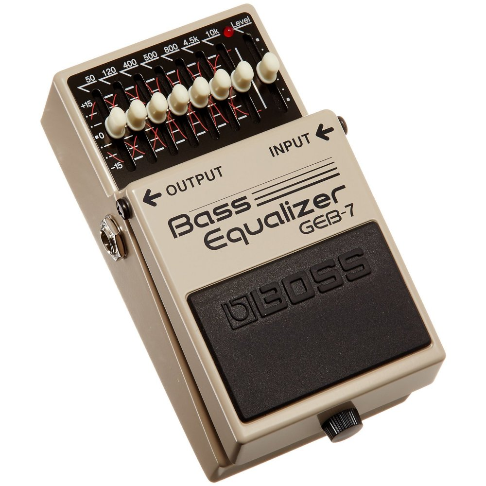 boss geb 7 bass guitar graphic equalizer effects pedal 5 year warranty. Black Bedroom Furniture Sets. Home Design Ideas