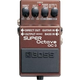 BOSS OC-3 Super Octave Compact Guitar Effects Pedal 5-Year Warranty
