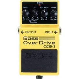 BOSS ODB-3 Bass OverDrive Effects Pedal - 5-Year Warranty