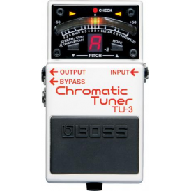 BOSS TU-3 Chromatic Pedal Tuner for Guitar & Bass - 5-YEAR Warranty