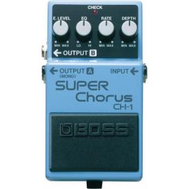 BOSS CH-1 Super Chorus Guitar Effects Pedal - 5-Year Warranty