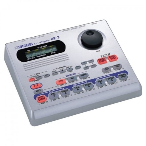 BOSS DR-3 Drum Machine with TSC and Rhythm Progression