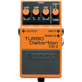 BOSS DS-2 Turbo Distortion Guitar Effects Pedal - 5-Year Warranty