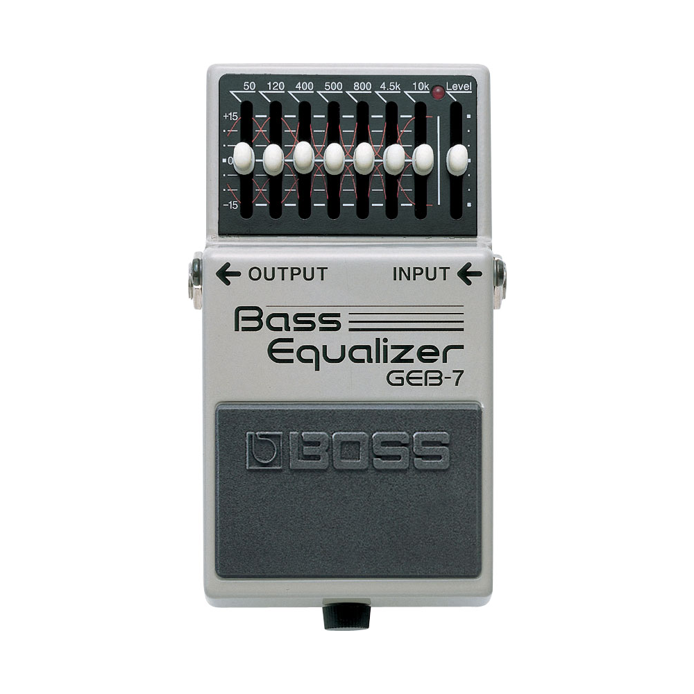 boss geb 7 bass graphic eq equalizer pedal. Black Bedroom Furniture Sets. Home Design Ideas
