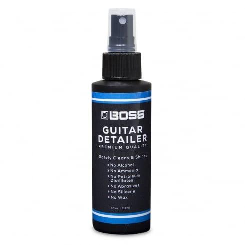 BOSS Guitar Detailer Polish 4oz Bottle Spray