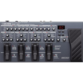 BOSS ME-80 Guitar Multi-Effects Processor, Floor Unit