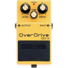 BOSS OD-3 Overdrive Compact Guitar Effects Pedal  - 5-Year Warranty