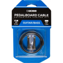 BOSS Pedalboard Patch Cable Kit, 2 connectors, 2ft / 0.5m