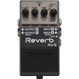 Boss RV6 Digital Reverb Compact Guitar Effects Pedal 5-Year Warranty