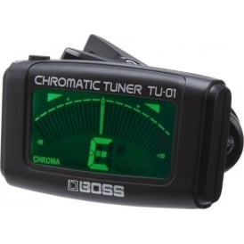 Boss TU-01 Clip On Chromatic Guitar Tuner