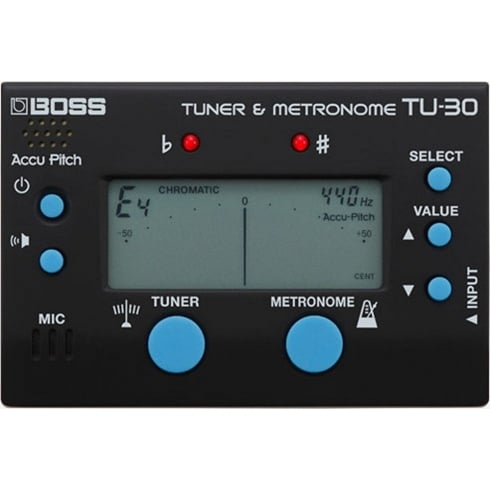TU-30 Guitar Tuner and Metronome