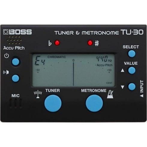 BOSS TU-30 Guitar Tuner and Metronome