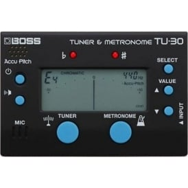 Boss TU-30 Guitar Tuner and Metronome